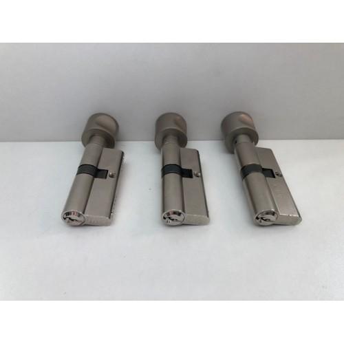 Set knopcilinders 30-40 3 stuks.