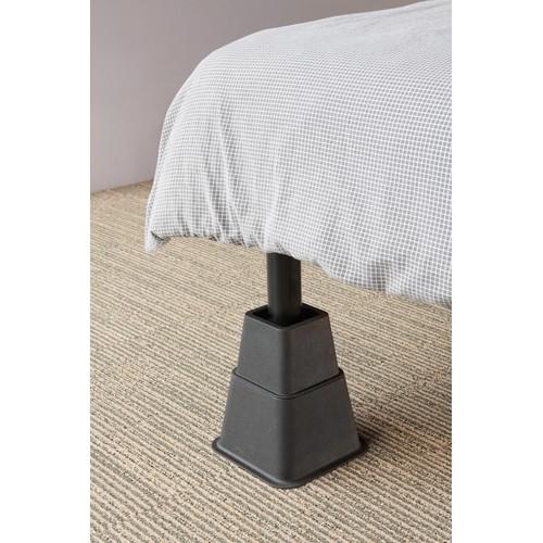 SecuCare bed- en meubelverhoger 21 cm zwart