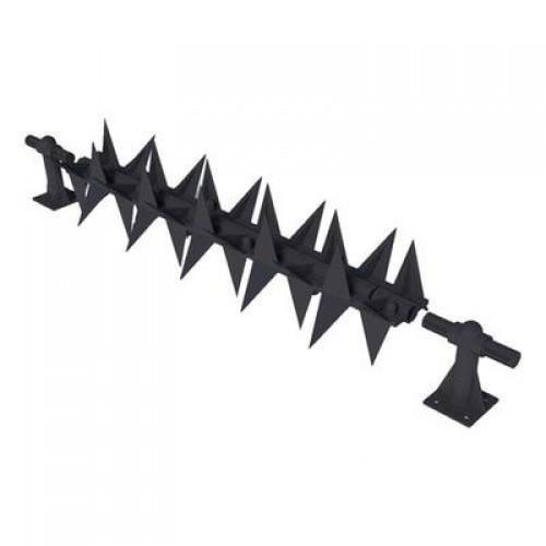 SecuMax Roller voor Anti-Klimstrip , Zwart, 500 mm